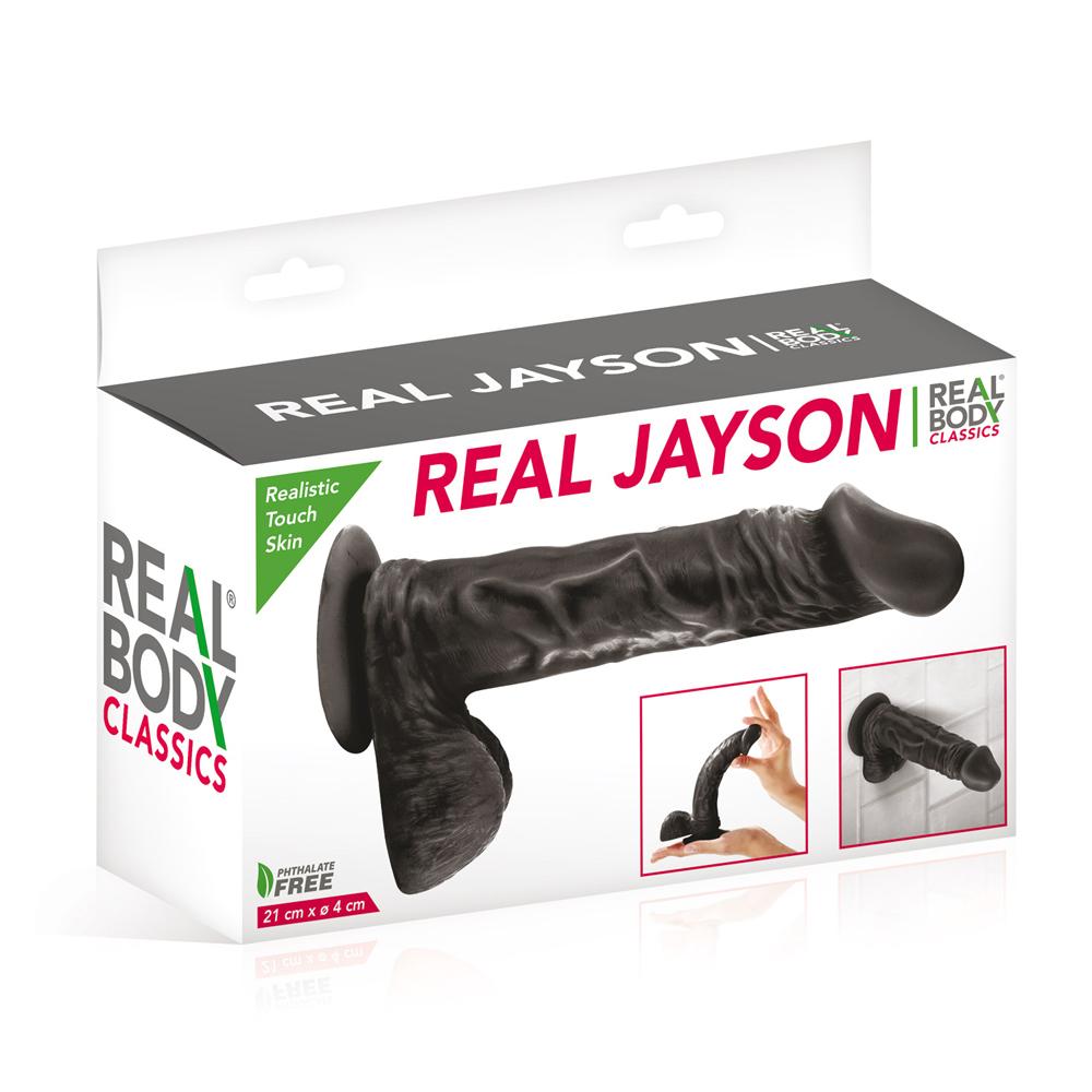 Fabricant de gode noir réaliste Real Body