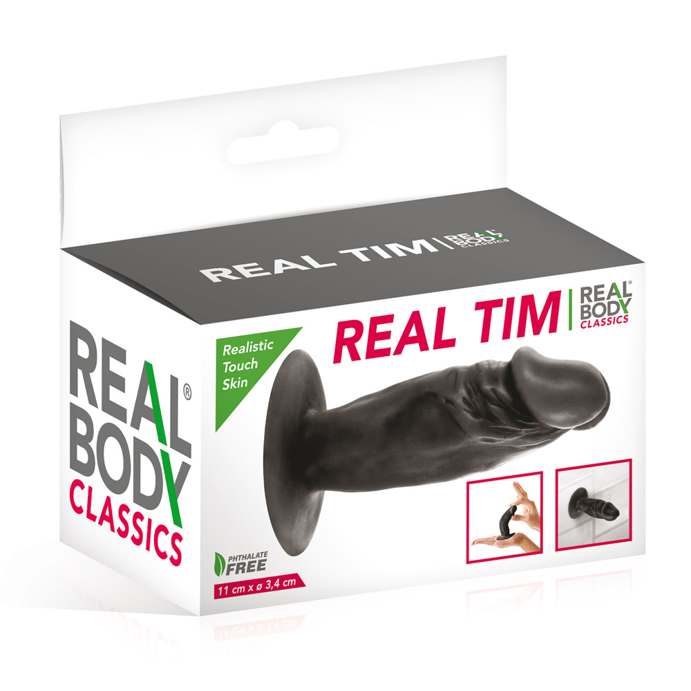 Gode black réaliste Tim Real Body