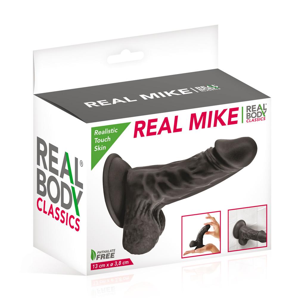 Vente en gros de gode réaliste noir Real Body